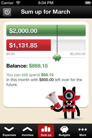 toshl pencatat keuangan pribadi