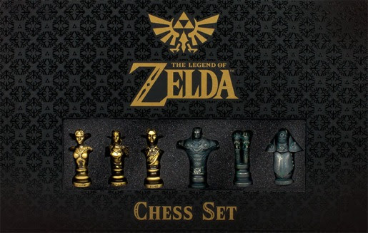 Gorgeous Legend Of Zelda Chess Set Available For Pre-Order