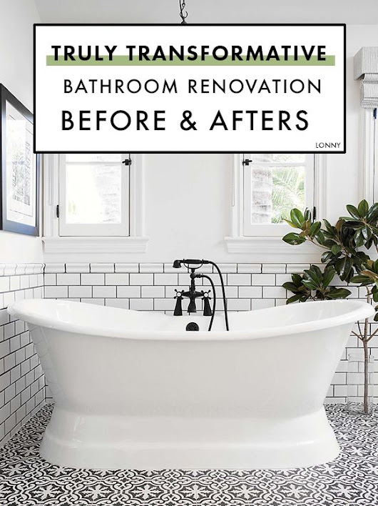 These Bathroom Reno Before & Afters Are Truly Transformative | Bath, Master bathrooms and House