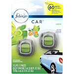 Procter & Gamble 86586CT Car Vent Clips, Scent Of Gain, 0.13 Oz Refill, 2/pack, 4 Pack/carton