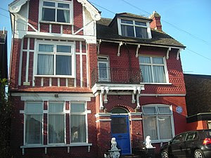 Arthur Conan Doyle's house in South Norwood, L...