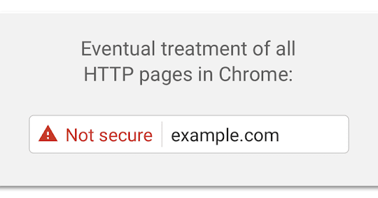 Google Chrome is removing the secure indicator from HTTPS sites in September