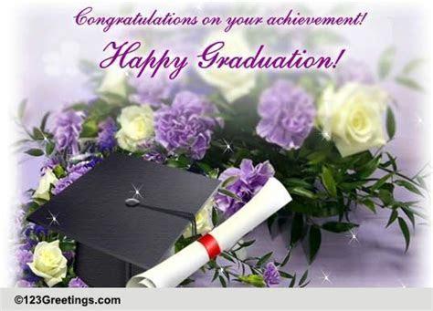 A Happy Graduation Wish. Free Happy Graduation eCards