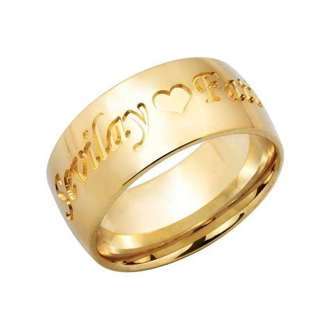 Elegant Wedding Name Rings   Matvuk.Com