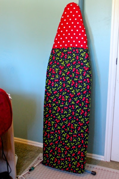 Sew An Easy Ironing Board Cover: Made By Marzipan
