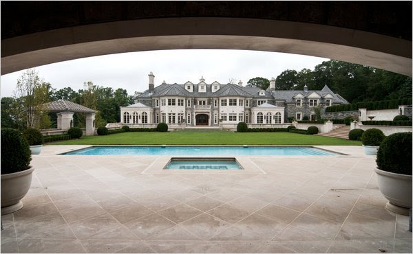Richard Kurtz in njegova rezidenca v New Jerseyju