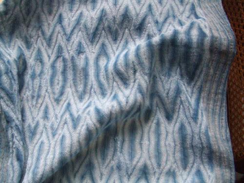 aizome shawl