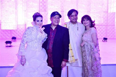 Raj and Magda Sahni's Reception Party in Dubai with
