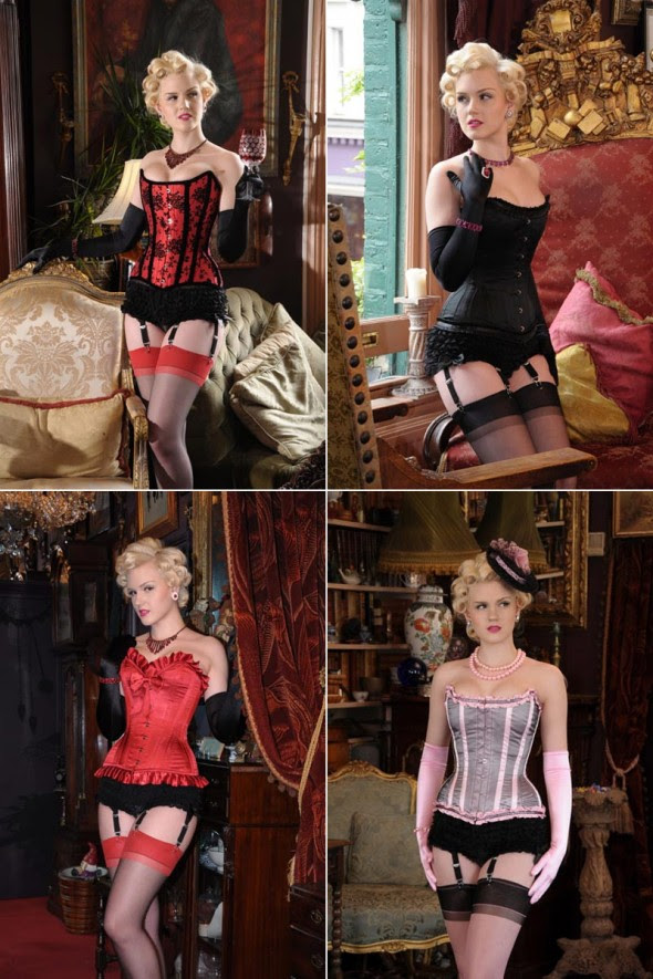 What Katie Did Showgirl Corsets
