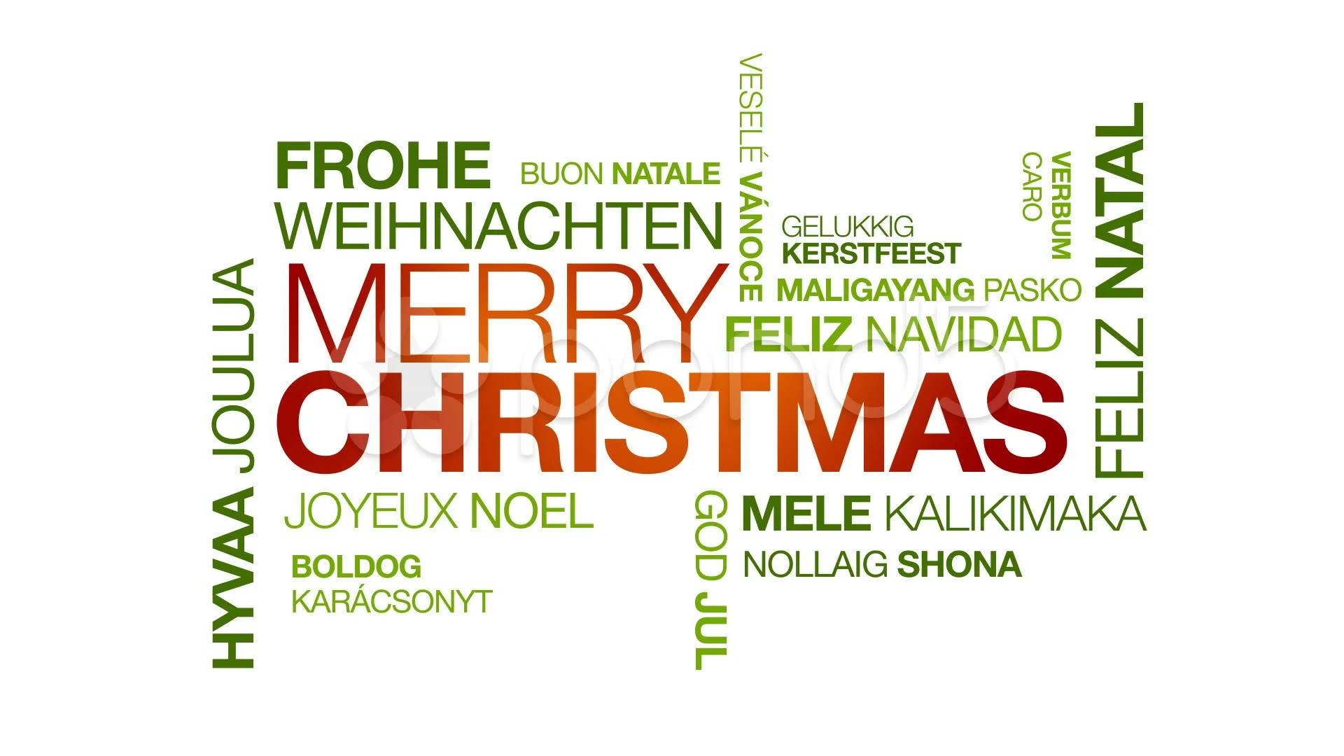 Christmas greetings in dutch marhaban ya ramadhan merry christmas in different languages stock video kristyandbryce Choice Image