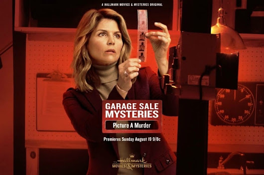 Hallmark Movies & Mysteries 'Garage Sale Mystery: Picture a Murder' Premiering this Sunday, Aug. 19th at 9pm/8c!