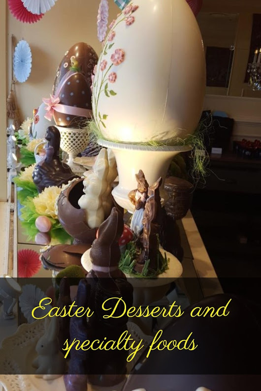Easter desserts and foods around the world