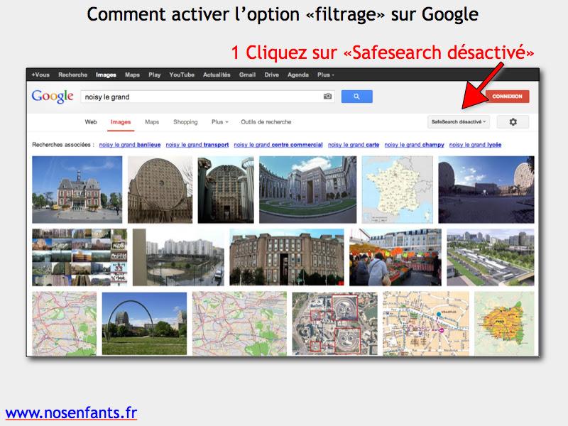 ActiverGoogleSafeSearch1