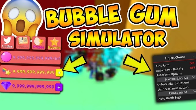 Bubble Gum Simulator AutoFarm + Unlock ALL Areas