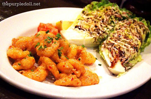 Crispy Shrimp Caesar Salad P499