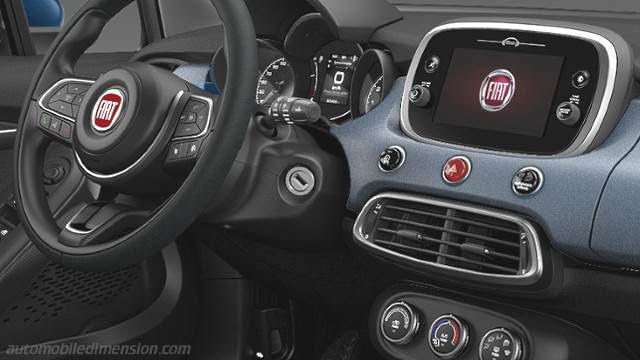 Fiat 500x Suv Innenraum