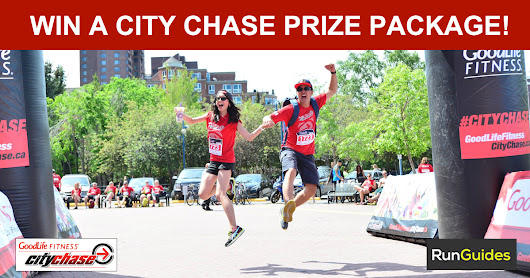 Win a Goodlife Fitness City Chase Prize Pack!