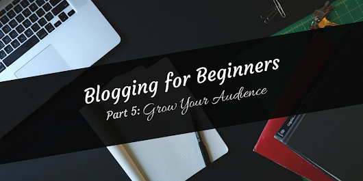 Blogging for Beginners #5: Grow Your Audience
