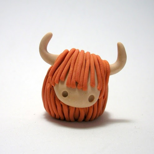 Wee Highland Cow - Quernus Crafts