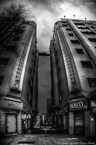 Santiago de Chile, Plaza Italia by Alejandro Bonilla