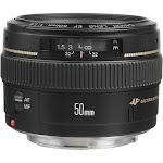 Canon Lens for Canon EF - 50mm - F/1.4 - Black