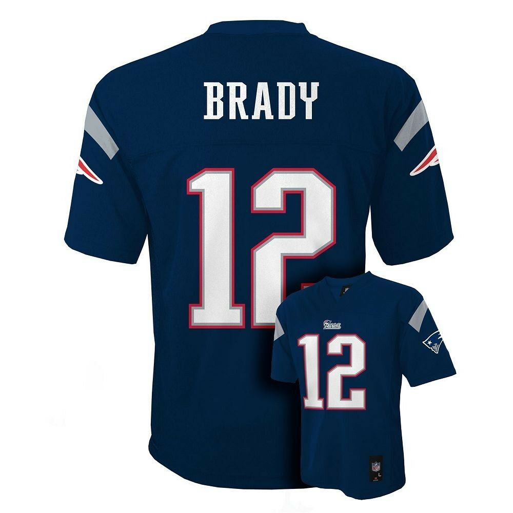 20162017 New England Patriots TOM BRADY nfl Jersey YOUTH KIDS BOYS LLARGE  eBay
