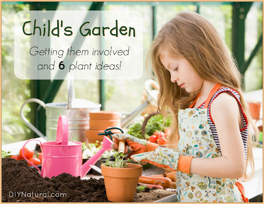 Child Garden Ideas and How to Get Them Into Gardnening