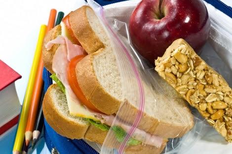 En Reino Unido es habitual que los niños lleven un sandwich de casa para comer.  EM