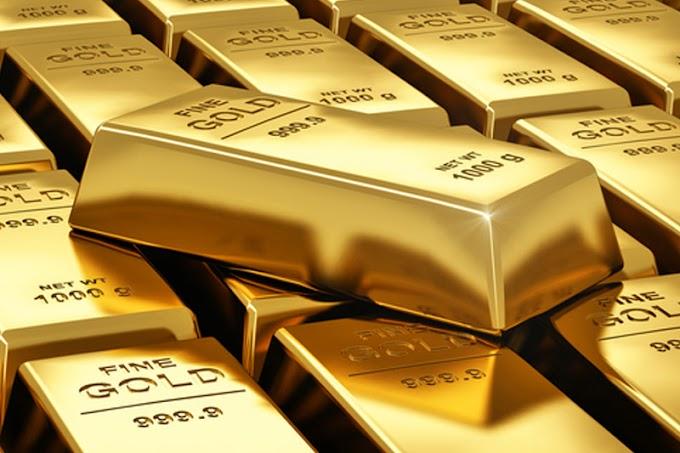 Los futuros del oro bajaron durante la sesión de EE.UU
