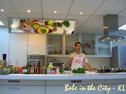 The Cooking House's Ryan Khang in action