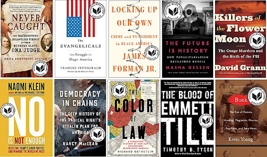 National Book Award longlist for nonfiction announced