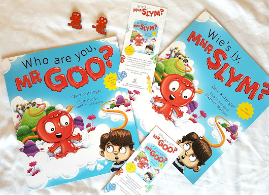 GIVEAWAY: Who are you, Mr Goo?/Wie is jy, Mnr Slym? - Pretty Please Charlie