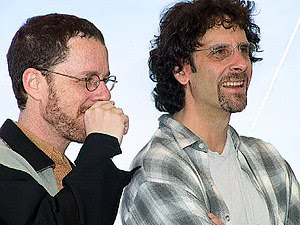 English: Coen Brothers at Cannes in 2001.