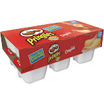 Pringles Potato Crisps, The Original, 12 Pack - 12 pack, 0.67 oz tubs