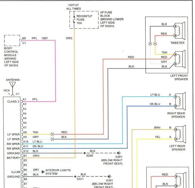 1994 Ford Econoline Radio Wiring Diagram