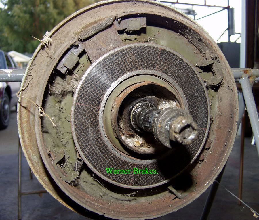 Removing The Brake Parts