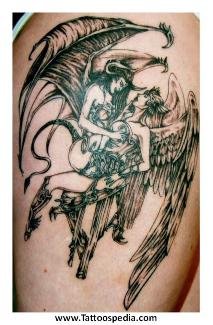 Tattoos Angel Y Demonio 3