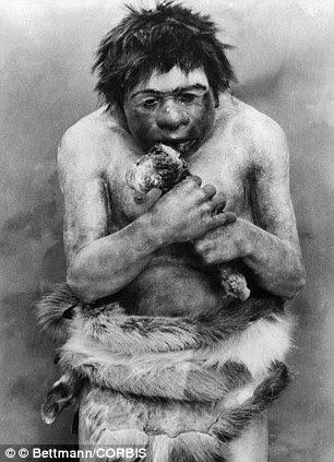 Concepto erróneo: Antes se pensaba que la dieta de los primeros humanos consistió en más de un 60 por ciento de las proteínas animales derivadas de la carne y el pescado