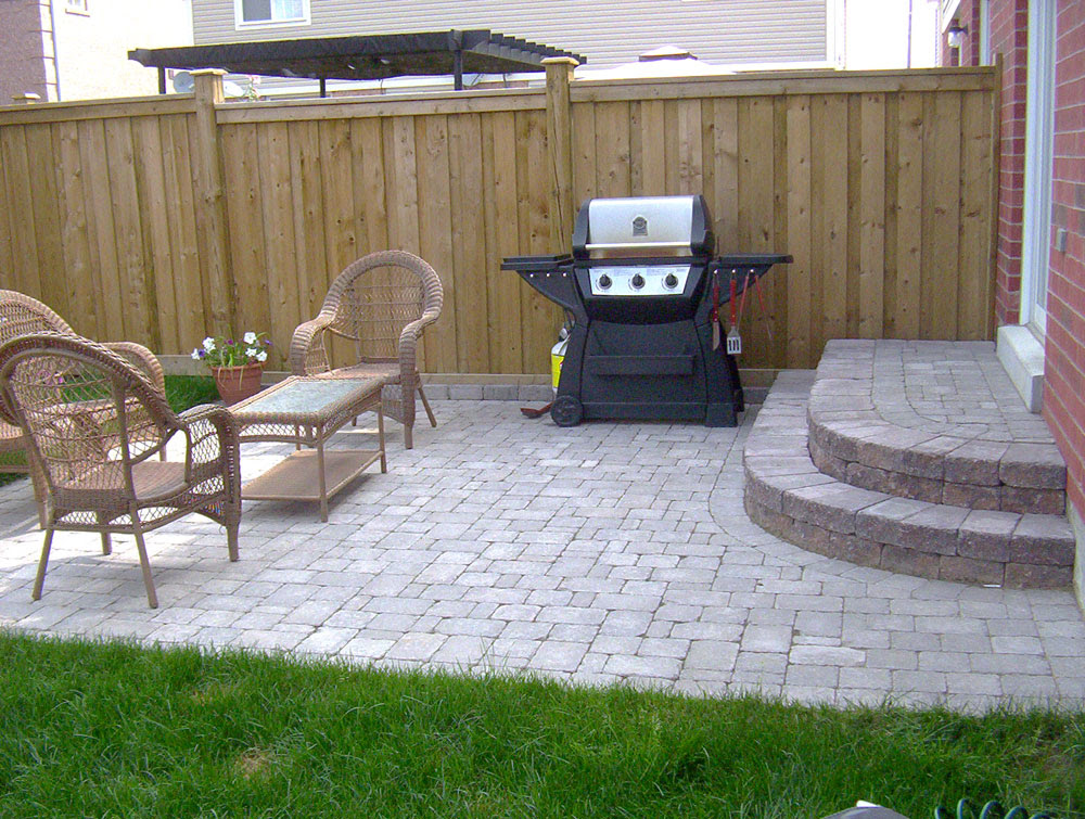 backyard landscaping oshawa