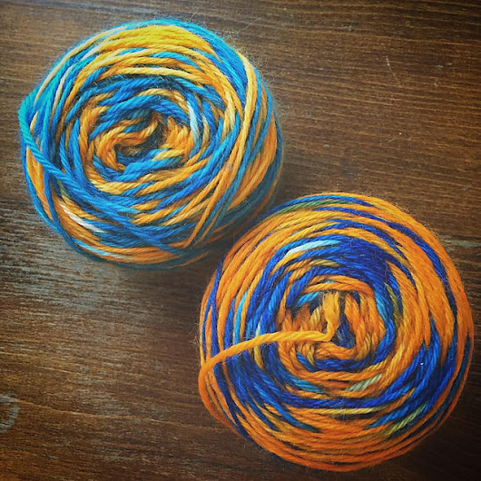 Samples for Lady Dye Yarns