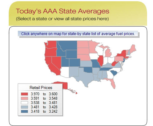 high gas prices 2011. Gas prices are high and are