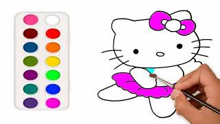 All Clip Of Gambar Mewarnai Hello Kitty Lucu Bhclipcom