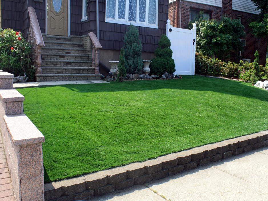 Fake Grass McArthur, Ohio Garden Ideas, Small Front Yard ...