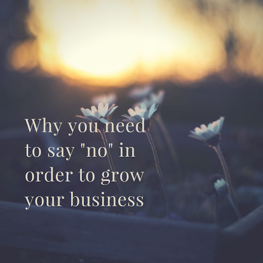 Why You Need to Say No In Order to Grow - City Girl Career