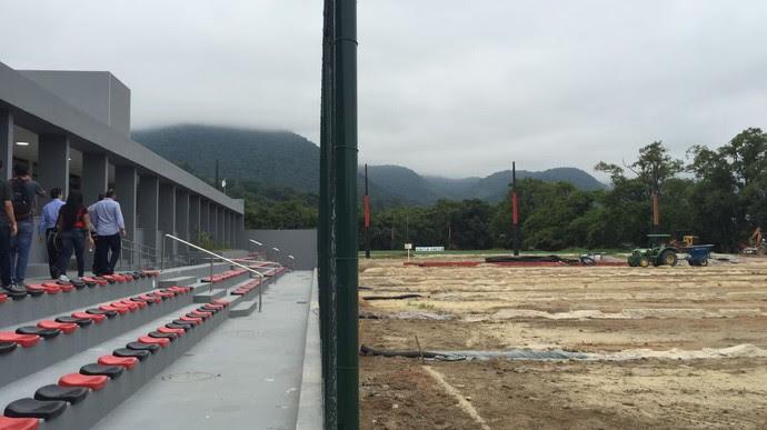 Flamengo Ct Inauguração (Foto: Raphael Zarko)