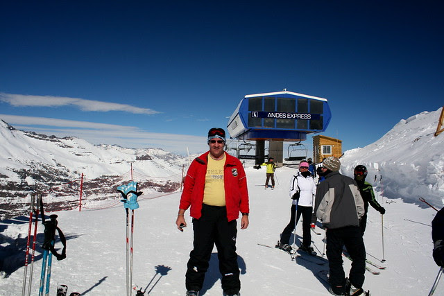 Valle Nevado: - Top of the Andes