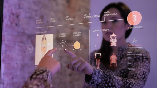 'Smart Mirrors' Are Coming to a Fitting Room Near You