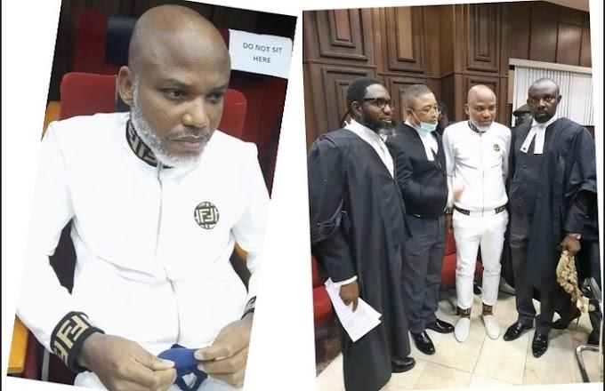 Nnamdi Kanu Moved Back To DSS Custody As Court Adjourns Till Nov 10