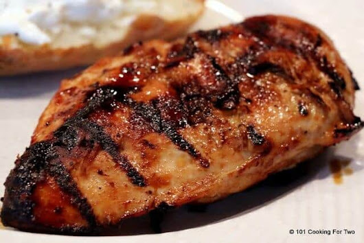 Honey Crusted Grilled Skinless Boneless Chicken Breast - 101 Cooking For Two