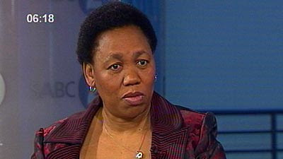 Angie Motshekga, president of the African National Congress Women's League. The ANCWL is a major component of the ruling party. by Pan-African News Wire File Photos